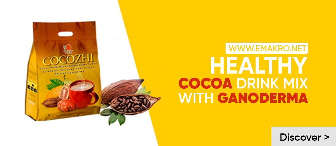 emkro.net Cocoa coffee with ganoderma